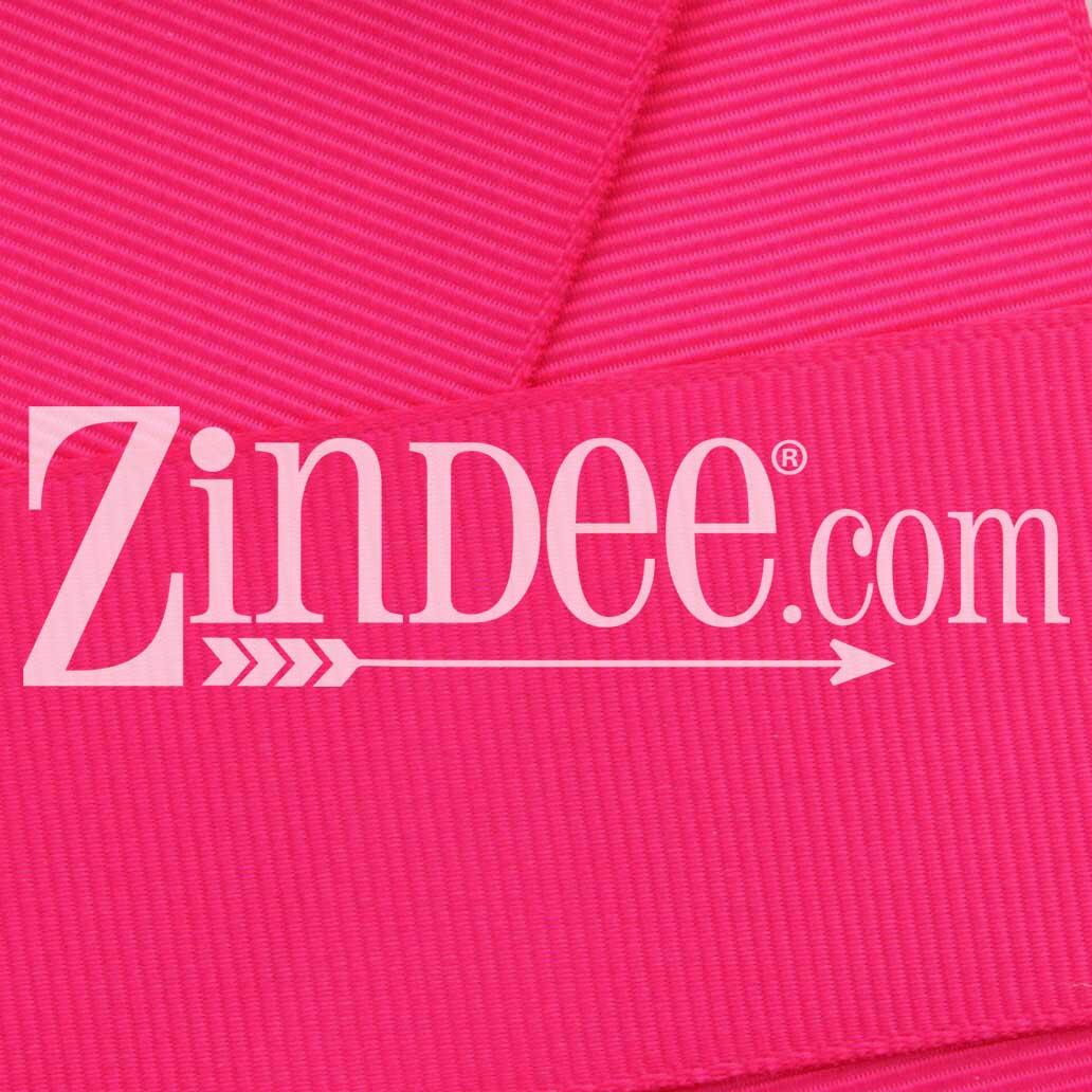 "PINK  3/"" wide grosgrain ribbon 2 yards listing"
